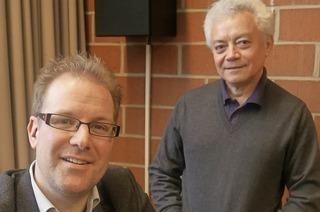 Matthias Alteheld und Reginaldo Pinheiro präsentieren einen Liederabend an der Musikhochschule