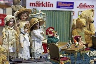 Freiburger Spielzeugbörse auf der Messe Freiburg am Samstag, 11. Februar 2017, von 11 bis 16 Uhr