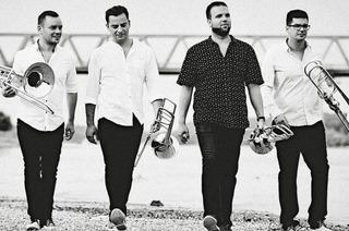 Four Bones Quartet spielt in der Erlöserkirche