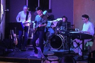 Schüler und Lehrer der Musikschule Lahr im Schlachthof