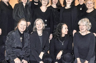 Der Frauenkammerchor CanTanten konzertiert in der Kirche von St. Ulrich