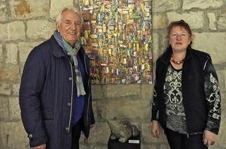 Werke von Gérard Fritz, Heinz Niedanowski und Roswitha Niedanowski in Laufen