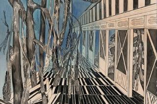 Werke von Susanne Kühn im Haus der Graphischen Sammlung