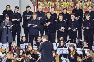 """Die Cappella Nova Freiburg interpretiert Händels Oratorium """"Messiah"""" in der Freiburger Herz-Jesu-Kirche"""