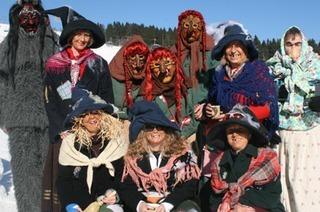 Auf dem Feldberg steigt der Hexen-Contest