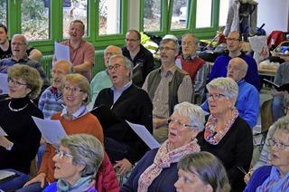 """Chorgemeinscahft Lahr, MGV Sulz und Solisten singen """"Frühling im Dreivierteltakt"""" im Konzertsaal Altes Scheffel"""