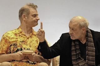 """Tragikkomödie """"Kunst"""" mit bekannten Schauspielern in der Stadthalle Lahr"""