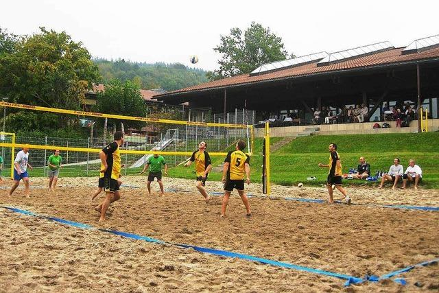 Beachvolleyballanlage