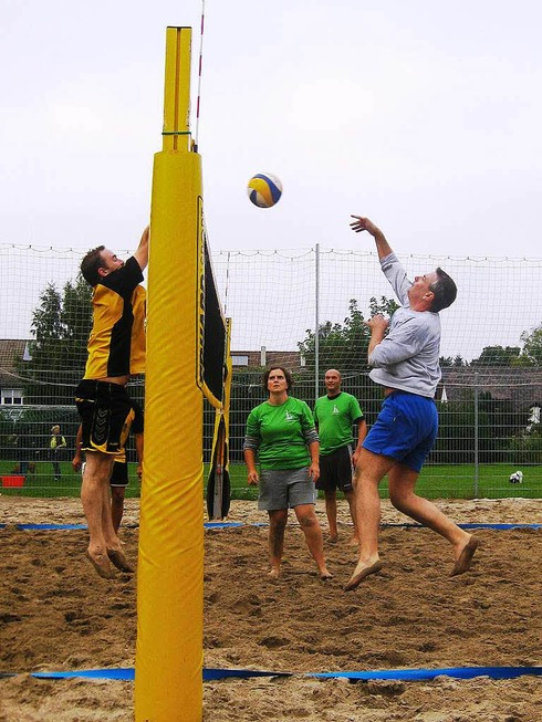 Beachvolleyballanlage - Merzhausen