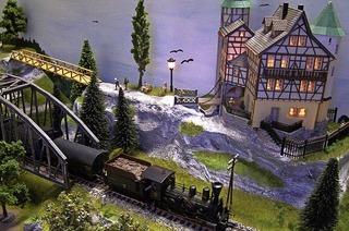 Im Kurhaus Bad Krozingen werden Modellbahnen und Miniaturlandschaften ausgestellt