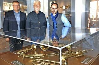 Trompetenmuseum in frischem Glanz