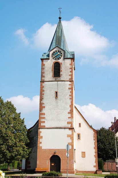 Ev. Petruskirche - Steinen