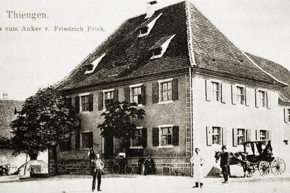 Gasthaus zum Anker (Tiengen) - Freiburg