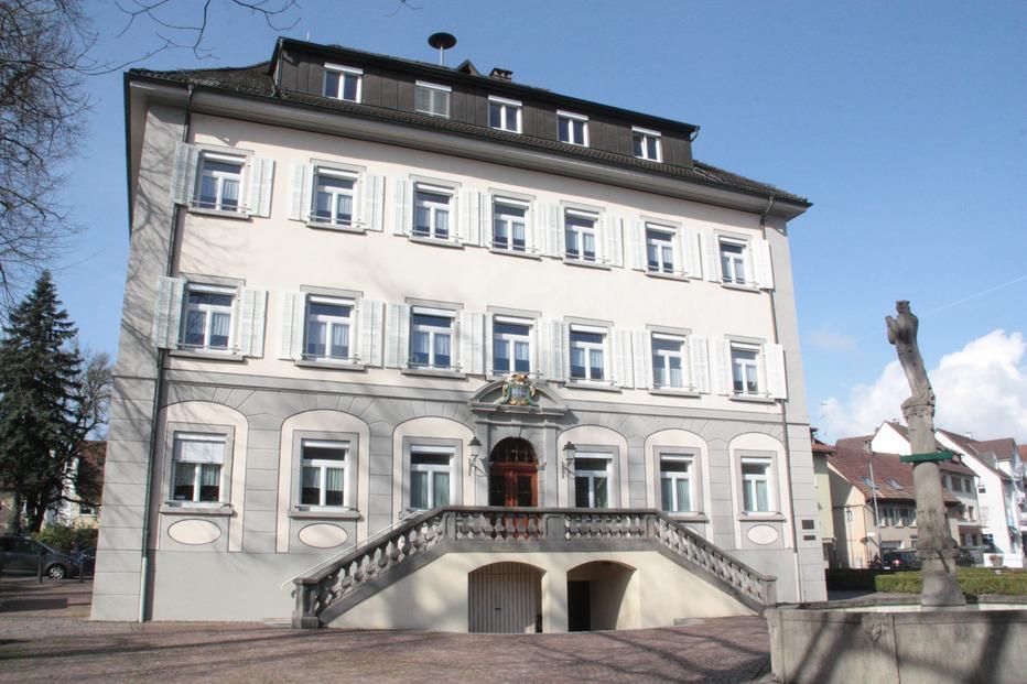 Rathaus - Wehr