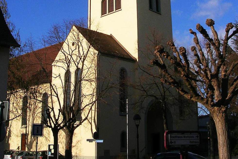 Katholische Liebfrauenkirche - Neuenburg am Rhein