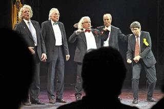 Die A Cappella-Gruppe Öl des Südens in der Kumedi