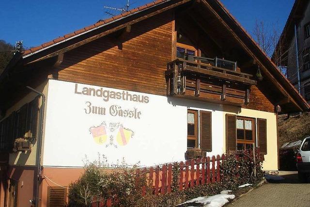 Landgasthaus zum Gässle (Gresgen, geschlossen)