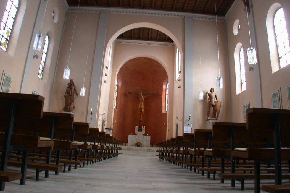 Kath. Kirche St. Bernhard - Schopfheim
