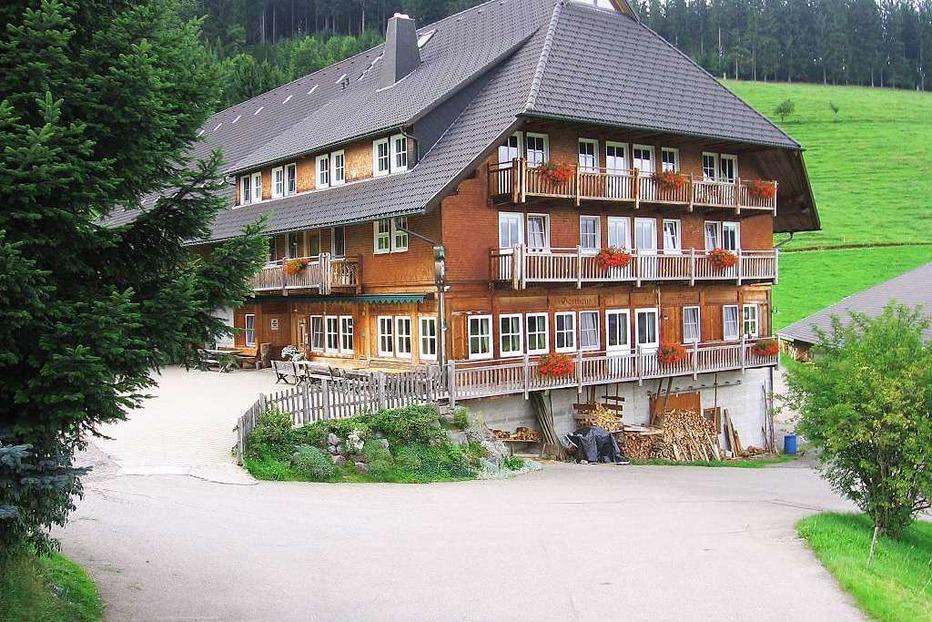 Gasthaus zum Strauß (geschlossen) - Breitnau