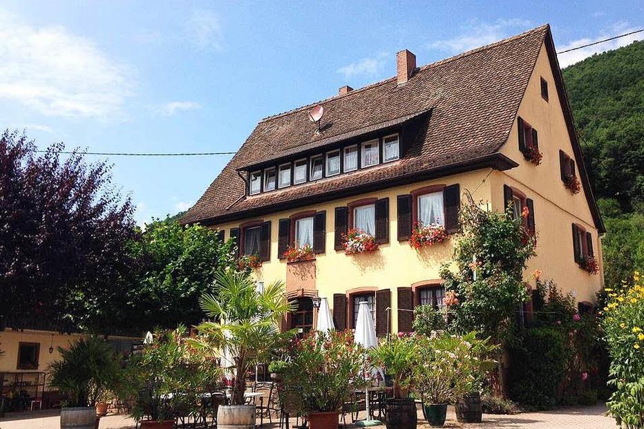 Gasthaus zur Blume - Badenweiler