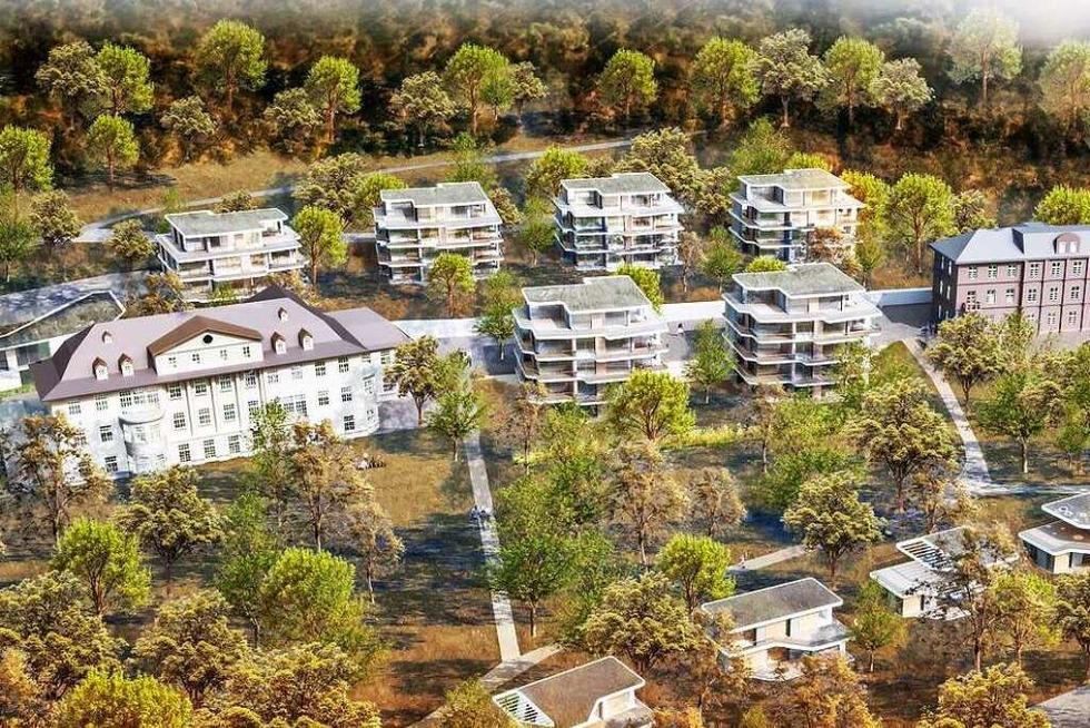 Projekt Altenberg: Dreiviertel der Fläche bleibt unbebaut - Badische Zeitung TICKET