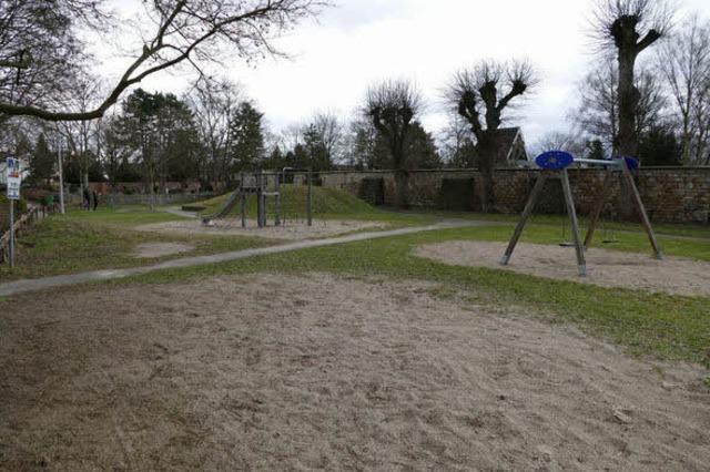 Spielplatz beim Friedhof