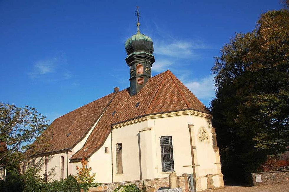 Barockkirche St. Fides und Markus - Sölden