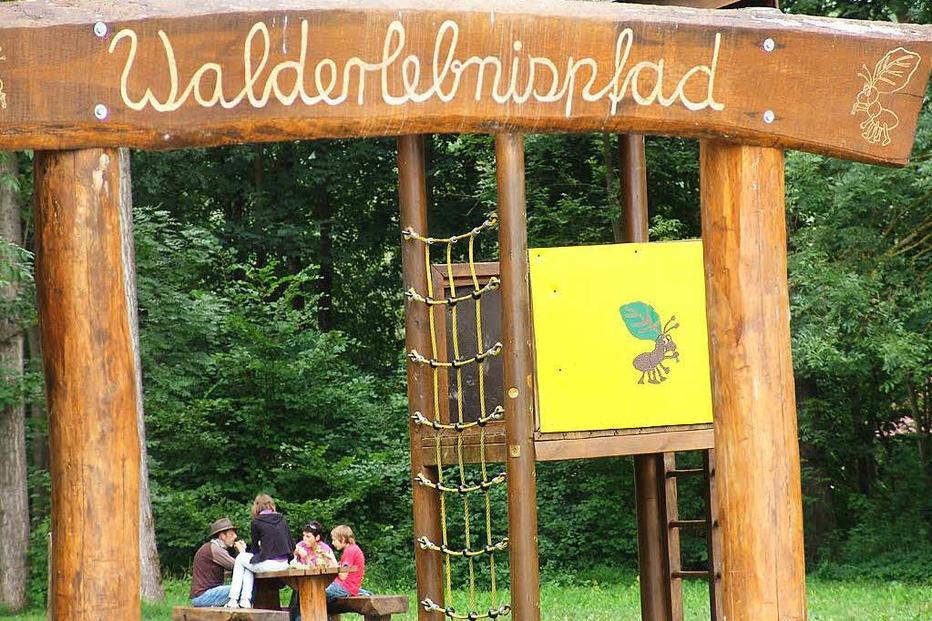 Spielplatz Erlenschachenwald - Bötzingen