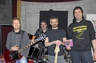 Mit der Band Garasch Delüxe in Friedenweiler