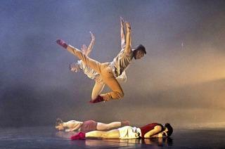 Tanzcompanie Dantzaz in der Oberrheinhalle Offenburg