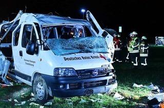 Tödlicher Unfall auf der A5: Unfallfahrer ist möglicherweise eingeschlafen