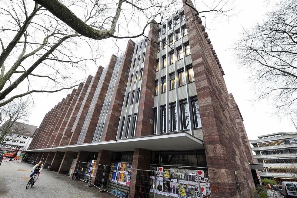 Universität, KG II - Freiburg