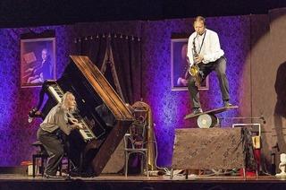 Gogol & Mäx, die Konzertakrobaten, im Bürgerhaus
