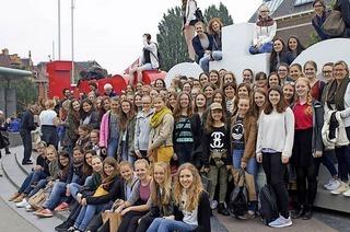 Das Orchester des Ursula-Gymnasiums und das Amsterdam Youth Orchestra spielen in Freiburg
