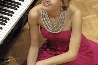 Arta Arnicande (Klavier) spielt im Rahmen der Schubertiade Riehen