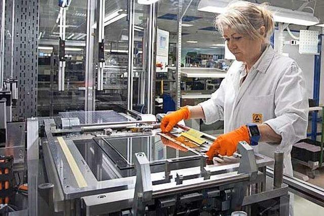 Bei Schurter in Endingen werden Touchpanels hergestellt
