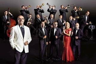 Das Glenn Miller Orchestra unter der Leitung von Wil Salden bringt die bekannten Songs der 30/40er Jahre in die Reithalle