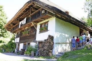 """""""Welle mache"""" wie anno dazumal im Bauernhausmuseum Schneiderhof in Endenburg"""