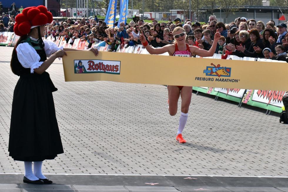 Lokalmatador Lukas Naegele gewinnt Freiburg-Marathon - Badische Zeitung TICKET