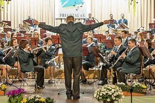 Frühjahrsdoppelkonzert des Musikvereins Prechtal