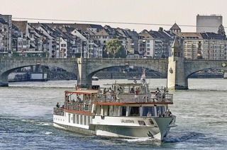Schleusenfahrten von Basel nach Rheinfelden
