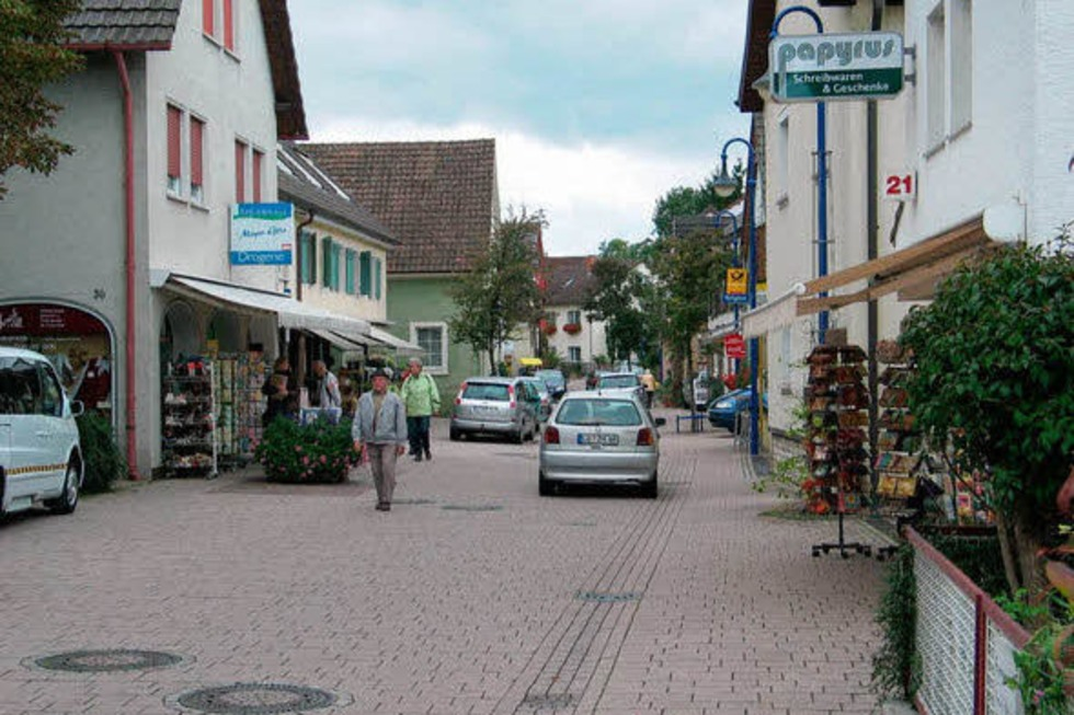 Rheinstraße - Bad Bellingen