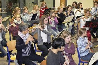 Das Querflötenensemble Flautissimo spielt in Todtnauberg