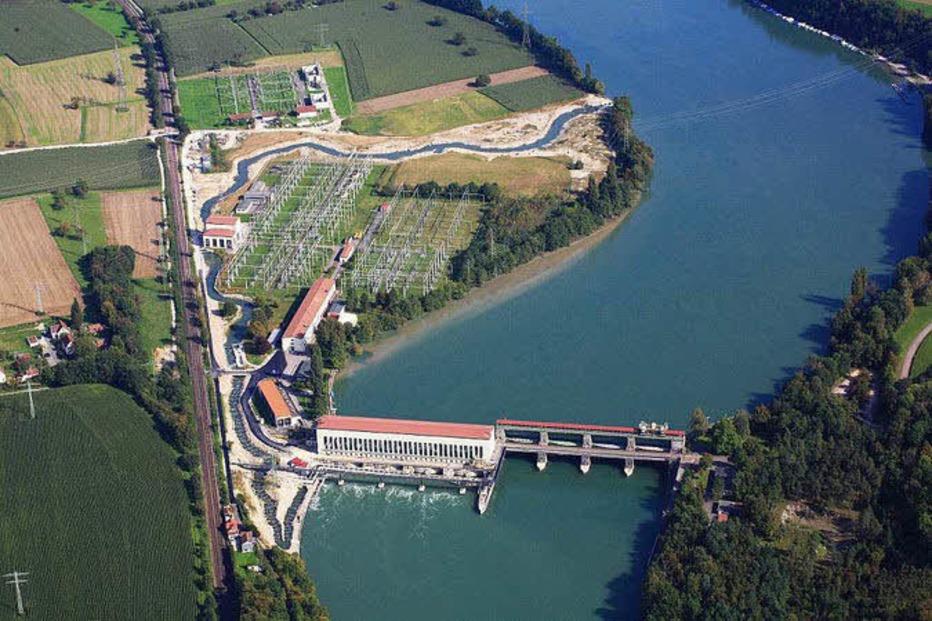 Kraftwerk Ryburg-Schwörstadt - Schwörstadt