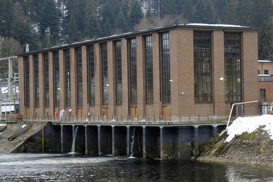 Kraftwerk Schwarzabruck - St. Blasien