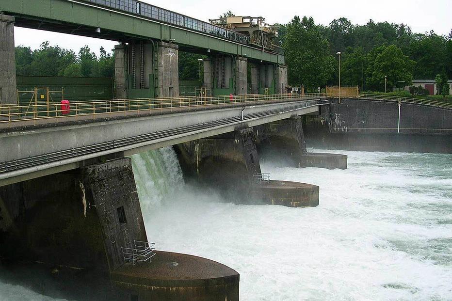 Kraftwerk Rhyburg-Schwörstadt - Rheinfelden