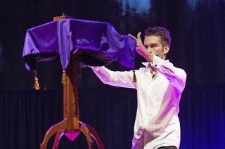 """The Magic Man"" Willi Auerbach in Denzlingen"