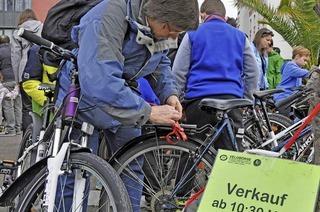 Fahrradbörse der IG Velo