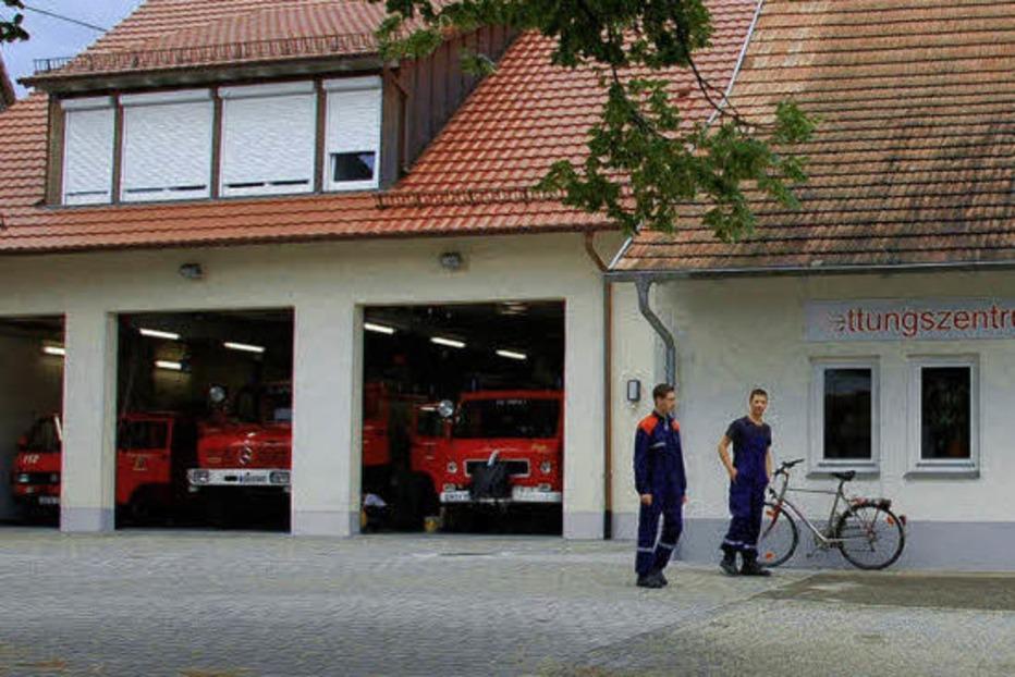 Feuerwehrgerätehaus - Vörstetten
