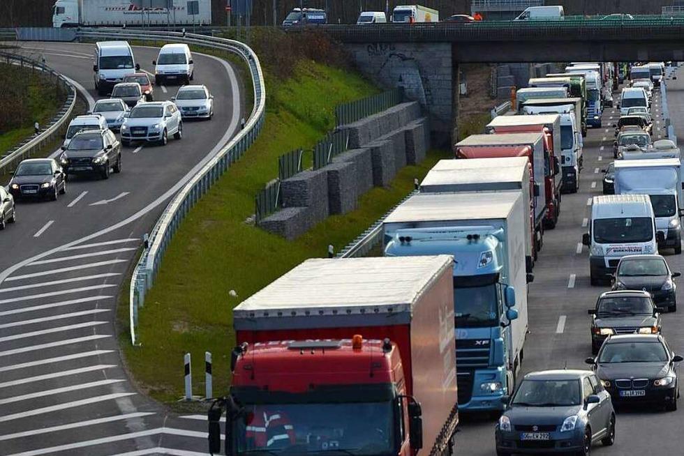 Längere Staus wegen Arbeiten an A 5 erwartet - Badische Zeitung TICKET